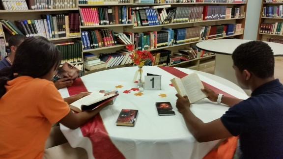 Library adult book speed dating